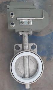 Van bướm inox điều khiển điện Haitima DN125