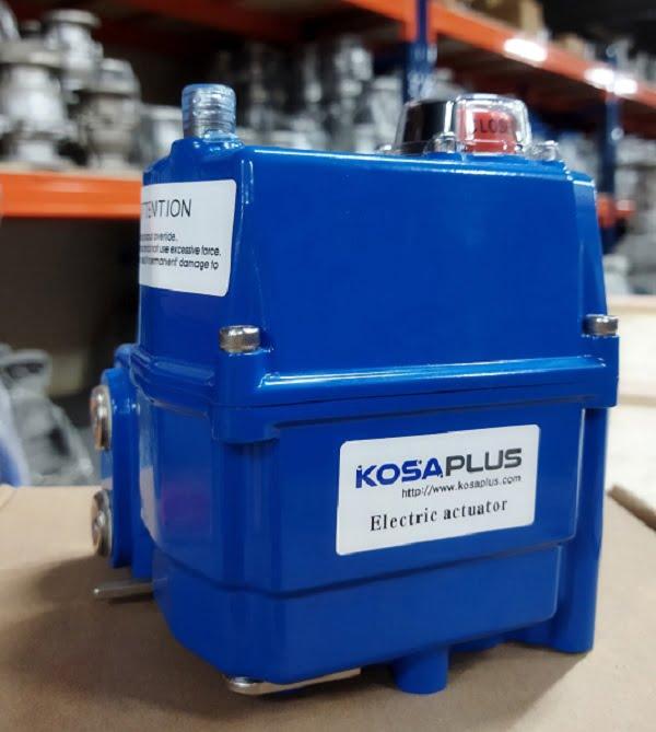 Bộ điều khiển van bi điều khiển điện Kosaplus Hàn Quốc
