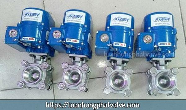 sản phẩm van bi ren điều khiển điện kosaplus