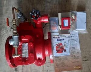 van báo động - alarm valve Hàn Quốc Wonil DN100
