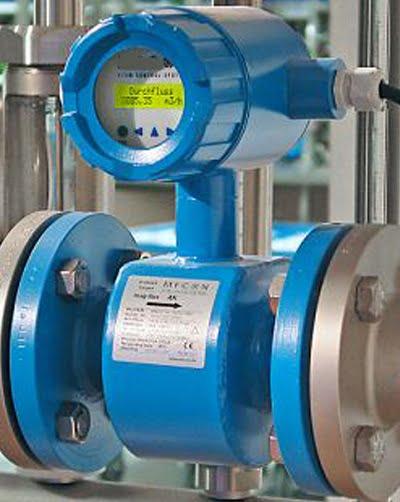đồng hồ đo lưu lượng nước thải dạng điện tử
