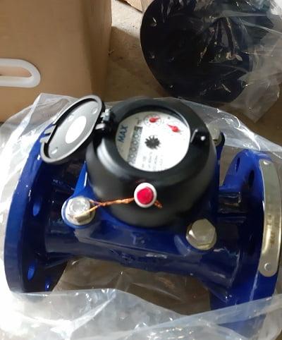 đồng hồ đo lưu lượng nước thải Pmax dạng cơ dn100