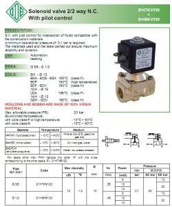 catalog van điện từ ode 21h8 - 21h7