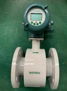 đồng hồ đo lưu lượng nước điện tử Woteck Đài Loan