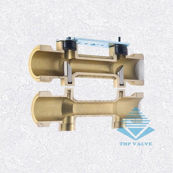 cấu tạo thân đồng hồ đo nước siêu âm